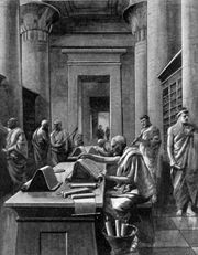 Founded circa 300bc, the Great Library of Alexandria was the most famed literary repository of the ancient world.