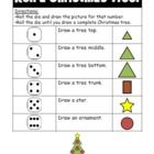 Roll a Christmas tree activity!