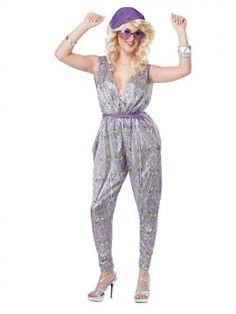 Boogie Fever Adult Costume | California Costumes Sizes: XS, S, M, L, XL www.californiacostumes.com