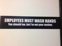 Funny sign In The Office