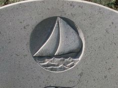 The boat as symbol on headstones- meaning, inspiration, and epitaph ideas. Headstone Inscriptions, Grave Monuments, Life Symbol, Christian Symbols, Digital Painting Tutorials, Memories Quotes, Ancient Symbols, Stone Carving, Drawing People