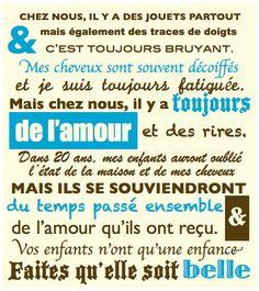 Chez nous... www.Facebook.com/MoiSuperMaman (parent - maman - enfant)