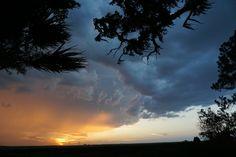 Thunderstorm approaching.JPG (thunderstorm sunrise+sunset ). Photo by BaldwinGirl