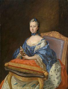 Portrait de la comtesse Sophie-Charlotte de Dohna-Wartenberg, princesse de…