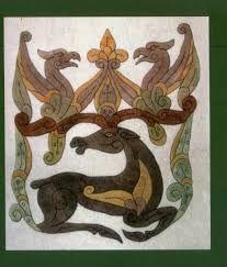 """Képtalálat a következőre: """"ősmagyar díszítő motívumok"""" Rooster, Moose Art, Painting, Animals, Animales, Animaux, Painting Art, Paintings, Animal"""