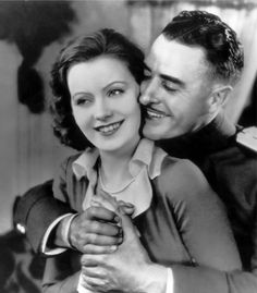 "Greta Garbo and John Gilbert in ""Love"" (1927)"
