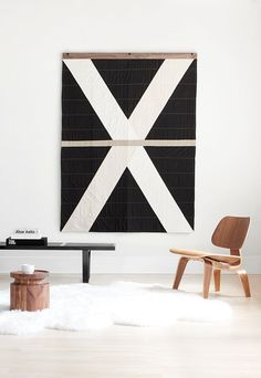 Louise Gray wall quilt