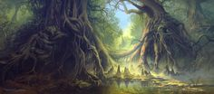 mysticalimages | Personal art: Fantasy environment conceptInspiration: Balete ...