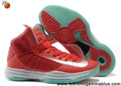 Latest Listing University Red Silver White Jade Nike Lunar Hyperdunk 2013 Shoes Store