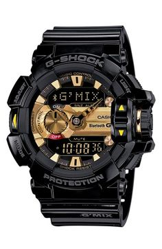 online shopping for Casio G-Shock Men's G'Mix Rotary Switch BLE Watch, Black/Gold, One Size from top store. See new offer for Casio G-Shock Men's G'Mix Rotary Switch BLE Watch, Black/Gold, One Size Men's Watches, Casio G Shock Watches, Dream Watches, Sport Watches, Luxury Watches, Cool Watches, Watches For Men, Analog Watches, Wrist Watches