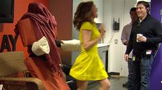 Surprise! Natalie fooled by chair prank - TODAY.com