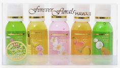 Bath & Body Gel - Hawaiian Scented Mini Sampler Assortment