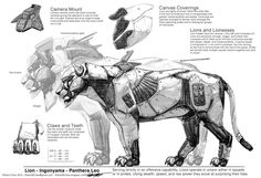 mecha lion - Google Search