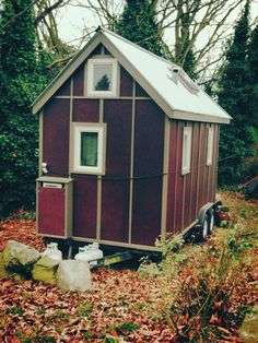 Leila Alis tiny house is getting evicted from a Ballard backyard because it doesnt jibe with single-family zoning rules.