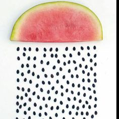 Watermelon is so much better without the seeds!