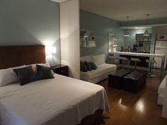 Small Living Room Layout, Studio Apt, Basement Renovations, Hostel, New Homes, Art Deco, Bed, Furniture, Design