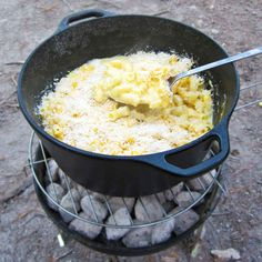 Camping Macaroni and Cheese
