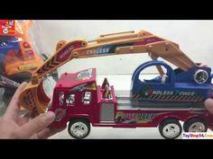 Xe tải ben, Xe máy xúc đồ chơi cho bé, Dump trucks, Backhoe Loaders Toys...