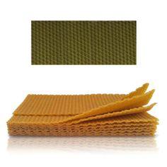 Méhviasz lap 20x40 cm - zöld