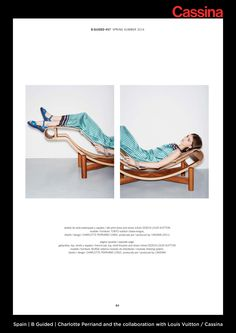 Spain | B Guided | Charlotte Perriand and the collaboration with Louis Vuitton / Cassina