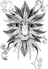 Resultado de imagen de tribal marihuana