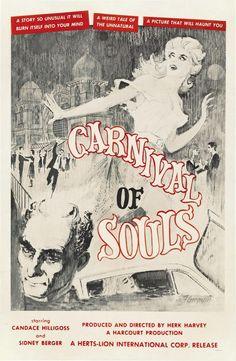 Carnival of Souls, 1962. Mary Henry es víctima de un accidente automovilístico; desde un puente colgante su vehículo se ha precipitado a un río. Horas después, Mary aparece sola y desorientada en un banco de arena. En seguida notará que el mundo que le rodea ha cambiado. La línea que separa a los vivos de los muertos se hace cada vez más borrosa. Es entonces cuando aparecen… ellos. https://youtu.be/85kdz4IVqVc