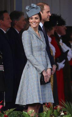 Kate Middleton aparece pela primeira vez após anunciar gravidez