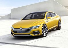 #Volkswagen hints of the new coupe-inspired #Passat clone to replace the four-door at 2015 #GenevaMotorShow