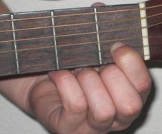 Simple C chord.