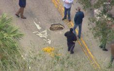 Η λακκούβα στο οδόστρωμα έκρυβε ένα τούνελ προς μια τράπεζα