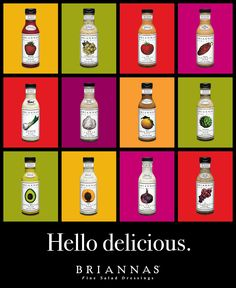 Brianna's salad dressings are delicious.  Best chicken marinades I've ever used, too.  Bravo Brianna!