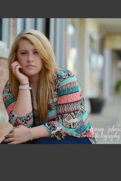 Serious senior