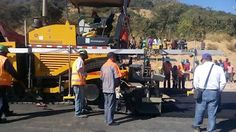 MOBA -  MOBA Equipment for Road Construction in Zambia, Africa!