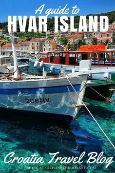 Things to do on Hvar Island - the perfect spot for a honeymoon!!! A bright spot on the Mediterranean, Hvar Island offers a luxurious island lifestyle that most people dream about - let us show you what to do in Hvar Croatia | Chasing the Donkey
