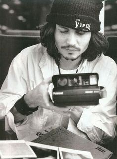 Johnny Depp back in the day#hipsta