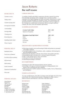 Entry-Level Janitor Resume Template | Free Downloadable Resume ...