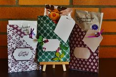Kleine Geschenke – Badesalz mit Stampin up verpackt Stampin Up, Gift Wrapping, Gifts, Bath Salts, Small Gifts, Packaging, Cards, Presents, Wrapping Gifts