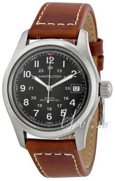 Hamilton Khaki Field Czarny/Skóra Ø38 mm, model H70455533, Fabrycznie nowy w Czas Zegarków. Materiały i dane techniczne Model:H70455533 Seria:Khaki Field Typ:Zegarek