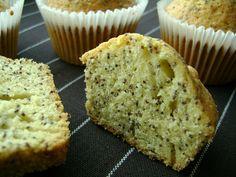 Pieguski - Muffiny z makiem