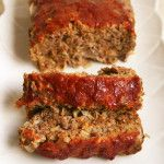 FMD Makeover! Meatloaf recipes for every phase 1 pound lean ground beef 2 egg whites 1/2 cup old-fashioned or rolled oats 1/4 cup plus 2 Tbls. sugar-free ketchup (or Homemade Sugar-Free Ketchup) 1/4 cup finely minced onion 1 tsp. sea salt 1/2 tsp. black pepper
