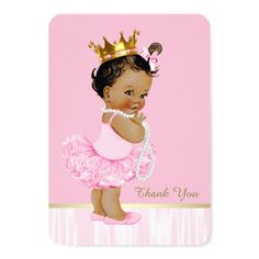 Shop Ethnic Ballerina Tutu Baby Shower Thank You created by The_Vintage_Boutique. Ballerina Baby Showers, Ballerina Tutu, Gold Baby Showers, Baby Shower Princess, Baby Princess, Baby Shower Advice, Baby Shower Fun, Baby Shower Parties, Baby Shower Gifts