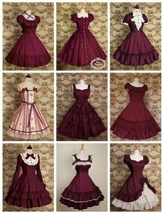 Pin by akira kori on outfits vestidos vintage, vestidos, vestidos bonitos. Pretty Outfits, Pretty Dresses, Beautiful Dresses, Cool Outfits, Kawaii Fashion, Lolita Fashion, Cute Fashion, Vintage Dresses, Vintage Outfits