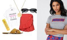 Så stylar du grafiska t-shirts på ett coolt sätt – inspireras av 3 outfits  - Metro Mode dd580b37174b8
