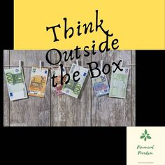 Reaching Financial Freedom requires some different type of thinking. Positive Mental Attitude, Positive Quotes, Thinking Outside The Box, Self Esteem, Grateful, The Outsiders, Freedom, Type, Books