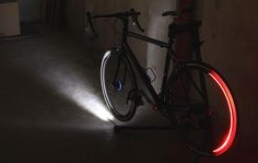 Just because bike lights are a crucial part of cycling safety doesn't mean they have to look lame on your frame. Whether you're rocking a trail or riding on the road, these 15 bold and beautiful bike lights will get you noticed so you can concentrate on getting to where you're going safely and in style.