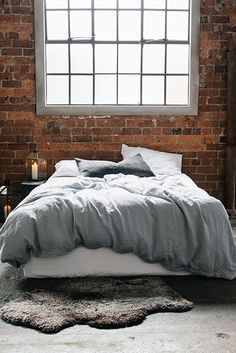 Stonewashed Linen Duvet Set (in Seafoam) with 2 pillowcases - Nest. With DuckEgg pillowcases/sheets?