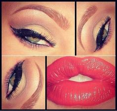 Soft make up for night