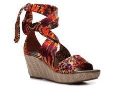 Impo Gleam Wedge Sandal