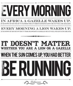 Run!      Daily Pump-up Song: Whitney Houston- It's Not Right, But It's OK    In honor of Whitney, because this one has always been on my workout playlist and it's such a kick-ass