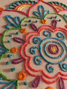 This post was discovered by Top Embroidery Design. Discover (and save!) your own Posts on Unirazi. Bordado mexicano by rosalind Crewel Embroidery - Long & Short as Soft Shading in Colors - Embroidery Patterns Mexican Embroidery, Crewel Embroidery Kits, Hand Embroidery Patterns, Ribbon Embroidery, Cross Stitch Embroidery, Embroidery Designs Free Download, Embroidery Tools, Custom Embroidery, Brazilian Embroidery